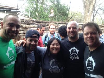 Chris Rodriguez & Speek in Tech Bisnow
